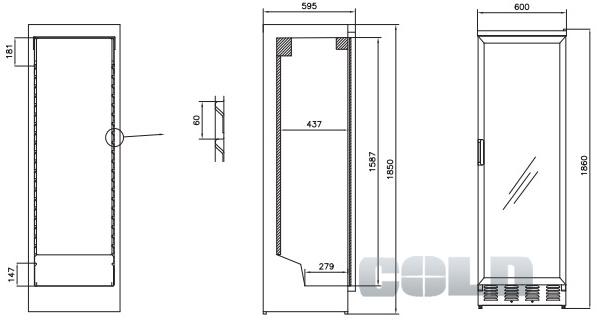 vestfrost solutions 371 special. Black Bedroom Furniture Sets. Home Design Ideas